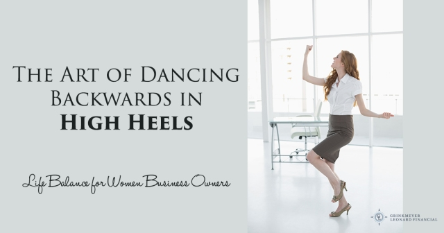 dancing back