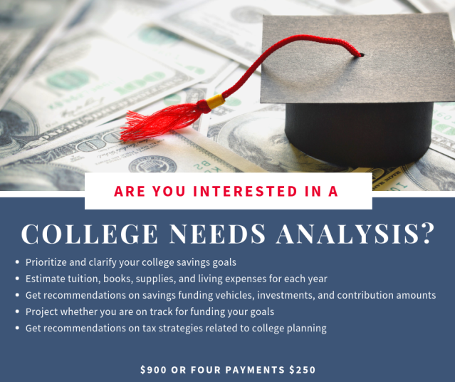 College Needs Analysis REVISED